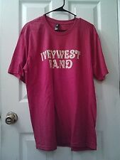 Ivey West Band Men's Red T-shirt Large New / No Tags
