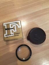 Nikkor Close-up No.1 F!.5 Diopter Attachment