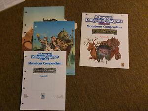 AD&D / Advanced Dungeons & Dragons - MC11 Forgotten Realms Appendix -TSR 2125