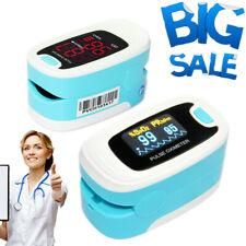 Fda Fingertip Pulse Oximeter O2 Blood Oxygen Meter Spo2 Pulse Heart Rate Monitor