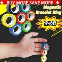 3PCS Magnetic Rings Anti-stress Stress Relief Ring Decompression Relief