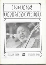 BLUES UNLIMITED : No.102 : June 1973 : Ruth Brown & David Wylie