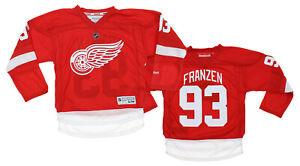 Reebok NHL Youth Boys Detroit Red Wings Johan Franzén #93 Premier Jersey, Red