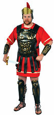 Roman Armour Gold Wash  Adult Costume Medieval Soldier Theme Party Halloween