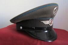 Gorra de plato suboficial militar antigua alemana ejercito Alemania oriental DDR