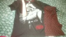 new M and S star wars pyjamas Small short sleeved top long bottoms