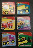 Tonka Block and Board Books 6 different Children's Tonka Truck books