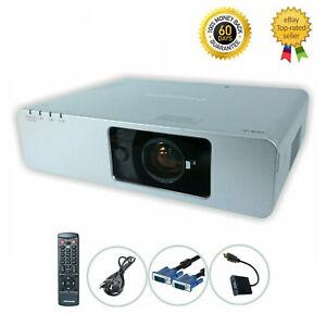 Panasonic PT-F100NTU 3LCD Projector 3200 ANSI HD 1080i HDMI-adapter bundle