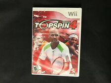 Top Spin 4 (Nintendo Wii, 2011) Brand New Factory Sealed