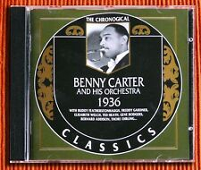 BENNY CARTER  CD  The Classics Chronological Series 541  Like New