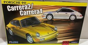 Fujimi 126463 N Gauge Building Kit 1/24 Porsche 911 Carrera 2 Carrera 4