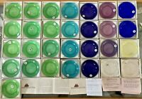 29 Fairhaven MA Unitarian Church Art Glass Guest Favors Pairpoint Cup Plate Lot