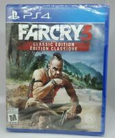 Far Cry 3: Classic Edition PS4 Game (Sony PlayStation 4, 2016) BRAND NEW !!!