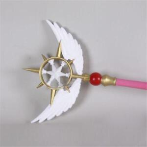"Cardcaptor Sakura Clear Card Star Dream Stick Wand Cosplay Prop 2 Vers 41"""