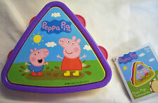 Peppa Pig Triangle Toy Tambourine & Finger Drum Colourful Musical Instrument