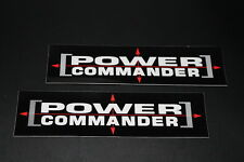 +020 Power Commander Tuning Chip Aufkleber Sticker Decal Autocollant Pickerl