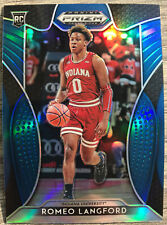 2019-20 Panini Prizm Romeo Langford Rookie Card RC Blue Prizms Boston Celtics 🔥