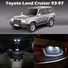 5) White Interior LED Light Bulb Package For Toyota Land Cruiser 1993 to 97