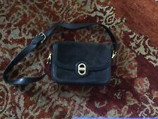 Original CELINE Handtasche Vintage Leder Schwarz TOP