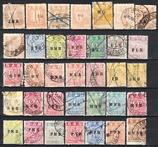 South Africa Railways 1930-60 bilingual Parcel stamp x 97 (4 scans ), used