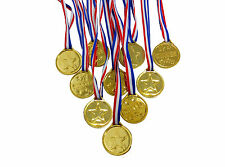 Winners Medals ,Toy Gold Medals, Party Games Bag Prizes Gifts ,Pack of 24