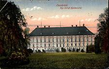 Osnabrück Niedersachsen AK 1918 Blick auf das königliche Schloß Gartenseite