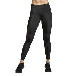 CW-X Women's Mid Rise Full Length Stabilyx Compression, Black, Size Small 7ex1