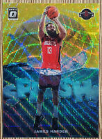 2019-20 Donruss Optic James Harden Splash Gold Wave SSP Prizm #1 Rockets 🏀🔥