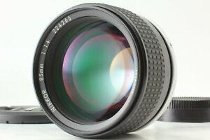 [N.Mint] Nikon Ai-s Nikkor 85mm f/1.4 MF Portrait Lens AIS from JAPAN #1042