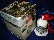 Hutschenreuther Weihnachtsglocke 1981 in bunter OVP und weitere bis 1995