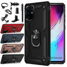 For Samsung Galaxy S20/S20 +/Ultra 5G Ring Stand Case Hybrid Cover + Accessories