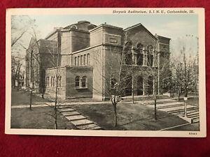 Shryock Auditorium, S.I.N.U. Carbondale, Ill. Printed Postcard