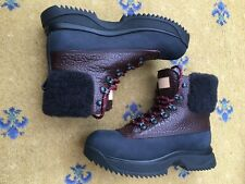 New Louis Vuitton Mens Leather Ankle Boots UK 6 US 7 EU 40 Ice Breaker Shearling
