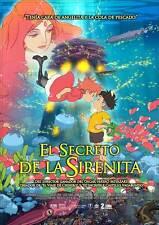PONYO ON THE CLIFF Movie Promo POSTER Mexican Hayao Miyazaki Hiroki Doi