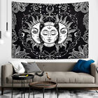 Burning Sun with Star Tapestry Sun and Moon Mystic Tapestry Wall Hanging Decor