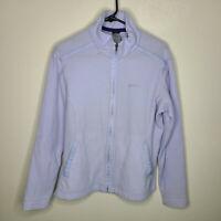 Patagonia Womens Lilac Full Zip Fleece Jacket Size Large