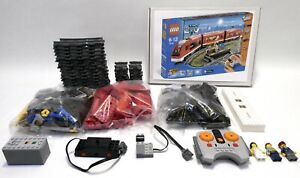 LEGO CITY PASSENGER TRAIN SET 7938 ALL POWERED PIECES 100% COMPLETE GUARANTEE