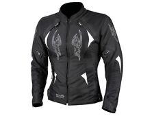 XL/16 Ladies MotoDry Milano Jacket Sports Touring Womens Motorbike Black White
