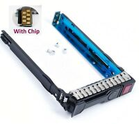 "2.5"" SAS SATA Tray Caddy For HP Proliant ML350e ML310e SL250s Gen8 G8 651687-001"