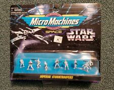 New! MicroMachines Space STAR WARS IMPERIAL STORMSTROOPERS 66081 1995 Galoob