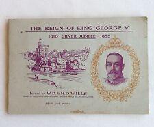 The Reign Of King George V 1935 Wills Cigarette Card Album Quality FULL SET(B42)