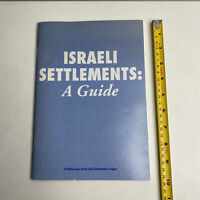 Israeli Settlements: A Guide - The Anti-Defamation League 1995 Paperback Book