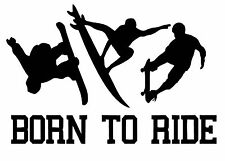 Born to Ride  vinyl car Decal / Sticker