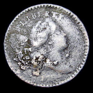 1794 Liberty Cap Bust Half Cent 1/2 Penny ---- Rare Details Type Coin ---- #E476