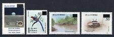 Sri Lanka 2005 Freimarken Vogel Raumfahrt Krabbe Mangroven 1485-88 ** RAR