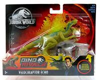 Jurassic World Dino Rivals Velociraptor Echo Dinosaur Action Figure