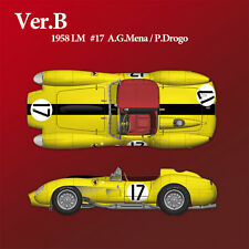 Model Factory Hiro 1/12 Full Detail kit - Ferrari 250TR Ver.B: 1958 LM #17