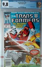 Marvel Comics TRANSFORMERS #28 CGC 9.8 NM super RARE NEWSSTAND see my other list