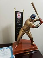 David Ortiz Red Sox Bronze Sculpture Signed Limited Edition.