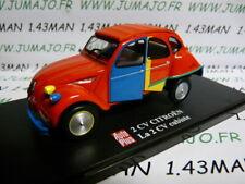 2CVAP64 voiture 1/43 ELIGOR Autoplus CITROËN 2CV n°22 Cubiste Picasso